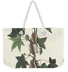 Traill's Flycatcher Weekender Tote Bag by John James Audubon
