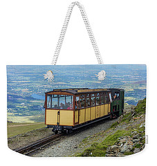 Train To Snowdon Weekender Tote Bag by Ian Mitchell