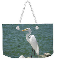 Tranquility Weekender Tote Bag by Val Oconnor
