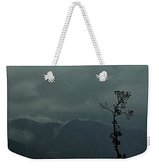 Tree And Mountain  Weekender Tote Bag by Rajiv Chopra