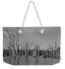 Weekender Tote Bag featuring the photograph Tree Cemetery by Douglas Barnard