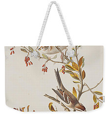 Tree Sparrow Weekender Tote Bag
