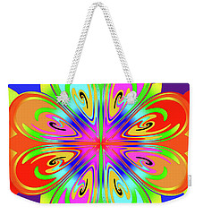 Tribute To Peter Max Weekender Tote Bag