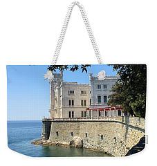 Trieste Miramare Castle Weekender Tote Bag