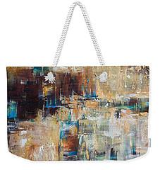 Weekender Tote Bag featuring the painting Trojan Horse II by Linda Olsen