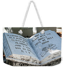Weekender Tote Bag featuring the photograph Tropical Cemetery by Lawrence Burry