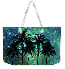 Tropical Night Weekender Tote Bag by Delphimages Photo Creations