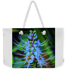 Weekender Tote Bag featuring the photograph Tropical Plants And Flowers In Hawaii by D Davila