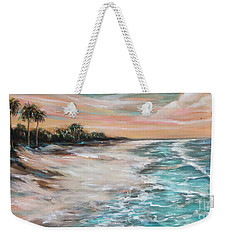 Tropical Shore Weekender Tote Bag