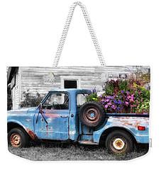 Truckbed Bouquet Weekender Tote Bag