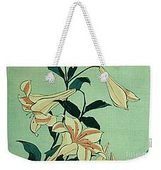 Trumpet Lilies Weekender Tote Bag