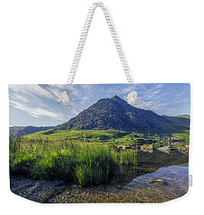 Tryfan Mountain Weekender Tote Bag by Ian Mitchell