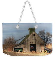 Tucked  Away In Rural Iowa Weekender Tote Bag