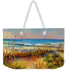 Turquoise Tide Weekender Tote Bag by Chris Brandley