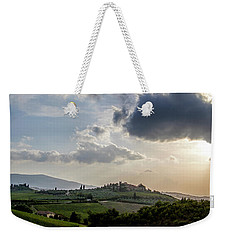 Tuscan Hillside Weekender Tote Bag by Jean Haynes