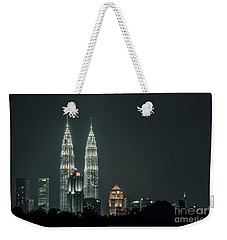 Twin Towers Weekender Tote Bag by Charuhas Images