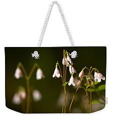 Twinflower Weekender Tote Bag by Jouko Lehto