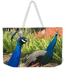 Two Friends Weekender Tote Bag by Kruti Shah