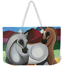 Two Ponies Weekender Tote Bag