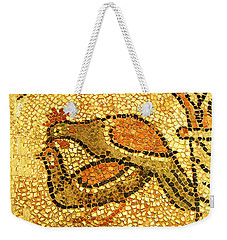 Weekender Tote Bag featuring the digital art Twosome by Asok Mukhopadhyay