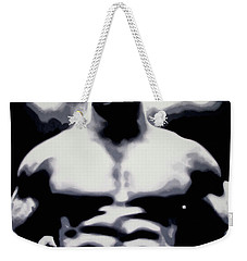 Tyson Weekender Tote Bag by Luis Ludzska