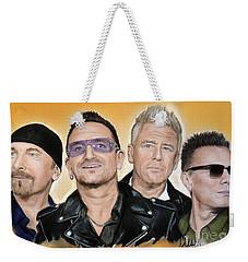 U2 Band Weekender Tote Bag
