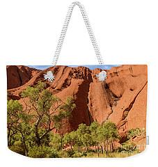 Weekender Tote Bag featuring the photograph Uluru 07 by Werner Padarin