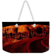 Uluru Sunrise Weekender Tote Bag