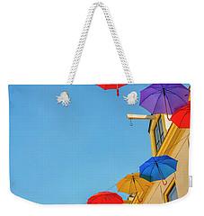 Umbrellas In The Sky Weekender Tote Bag