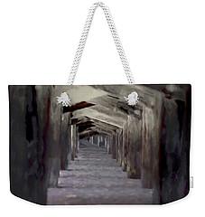 Under The Pier Weekender Tote Bag by Ernie Echols
