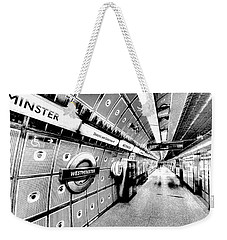 Underground London Art Weekender Tote Bag
