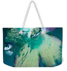 Underwaterflower Abstraction 6 Weekender Tote Bag by Lorella Schoales