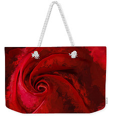 Unfurling Beauty Iv Weekender Tote Bag