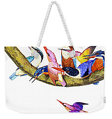 Weekender Tote Bag featuring the photograph United Family by Munir Alawi