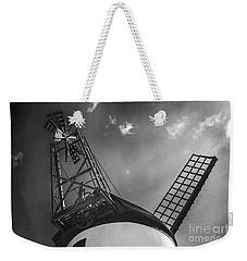 Unusual View Of Windmill - St Annes - England Weekender Tote Bag