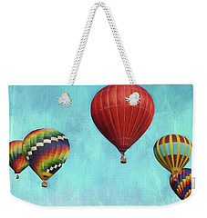 Weekender Tote Bag featuring the photograph Up Up And Away 2 by Benanne Stiens