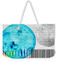 Urban Graffiti - Binary Evolution Weekender Tote Bag