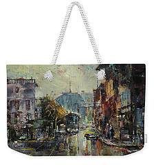 Urban Morning Weekender Tote Bag