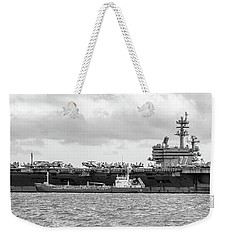 Uss George H.w Bush. Weekender Tote Bag