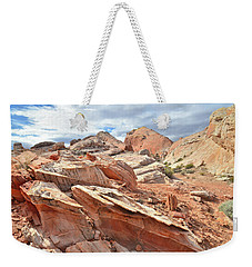 Valley Of Fire High Country Weekender Tote Bag by Ray Mathis