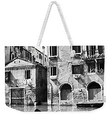 Weekender Tote Bag featuring the photograph Venice Canal, 1969 by Granger