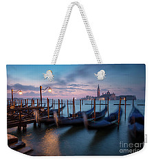 Weekender Tote Bag featuring the photograph Venice Dawn by Brian Jannsen