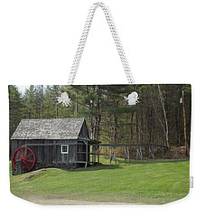 Vermont Grist Mill Weekender Tote Bag