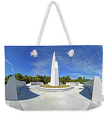 Veterans Freedom Park, Cary Nc. Weekender Tote Bag by George Randy Bass