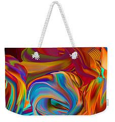 Vibration Wave Weekender Tote Bag