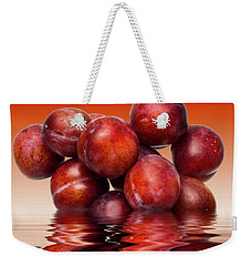 Victoria Plums Weekender Tote Bag by David French