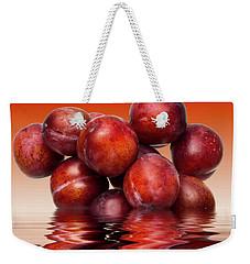 Victoria Plums Weekender Tote Bag