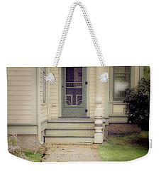 Weekender Tote Bag featuring the photograph Victorian Porch by Jill Battaglia
