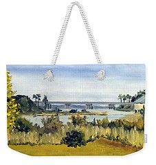 View From Sturgeon City Park Weekender Tote Bag by Jim Phillips