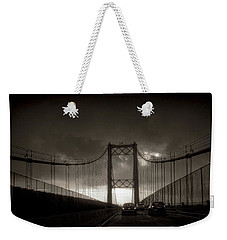 Vincent Thomas Bridge Weekender Tote Bag